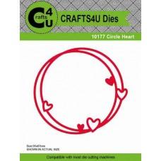 Crafts4U Die Circle Heart 10177