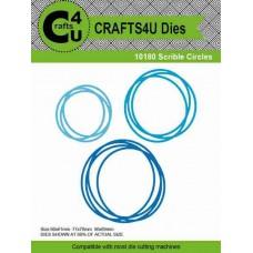 Crafts4U Die Scribble Circles (3 dies) 10180