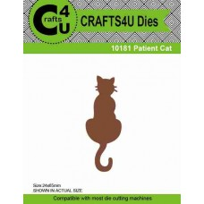 Crafts4U Die Patient Cat 10181