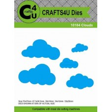 Crafts4U Die Clouds (5 dies) 10184
