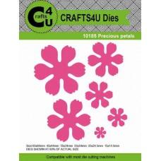 Crafts4U Die Precious Petals (6 dies) 10185