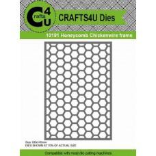 Crafts4U Die Honeycomb Chickenwire Frame 10191