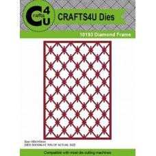 Crafts4U Die Diamond Frame 10193