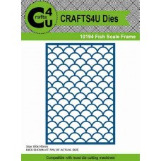 Crafts4U Die Fish Scale Frame 10194