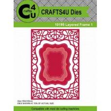 Crafts4U Die Layered Frame 1 (4 dies) 10195