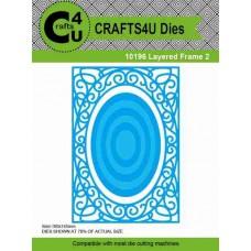 Crafts4U Die Layered Frame 2 (7 dies) 10196
