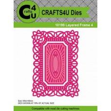 Crafts4U Die Layered Frame 4 (2 dies) 10198