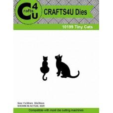 Crafts4U Die Tiny Cats (2 dies) 10199