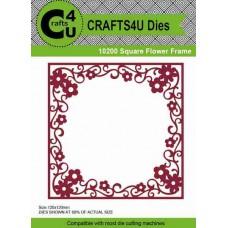 Crafts4U Die Square Flower Frame 10200