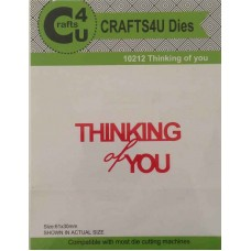 Crafts4U Thinking of You Die 10212