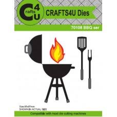 Crafts4U Die BBQ Set (8 Dies) 70108