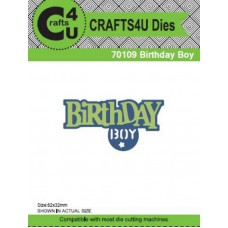 Crafts4U Die Birthday Boy (2 Dies) 70109