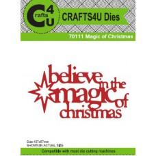Crafts4U Die Magic of Christmas 70111