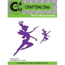 Crafts4U Die Wand Fairies (2 Dies) 70112