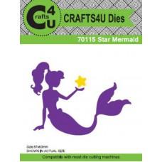 Crafts4U Die Star Mermaid 70115