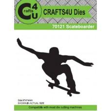 Crafts4U Die Skateboarder (Scateboarder) 70121