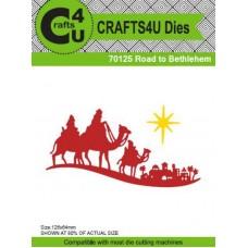 Crafts4U Die Road to Bethlehem 70125