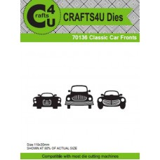 Crafts4U Die Classic Car Fronts (Grilles) (3 Dies) 70136