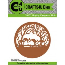 Crafts4U Die Hoping Kangaroo Mob 70137