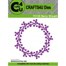 Crafts4U Die Berry Wreath 70139