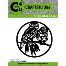 Crafts4U Die What a Hoot 70143