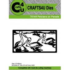 Crafts4U Die Pelicans on Parade 70144