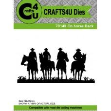Crafts4U Die On Horse Back 70149