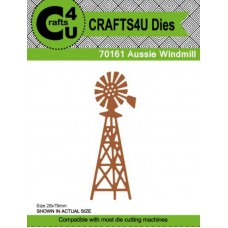 Crafts4U Die Aussie Windmill 70161