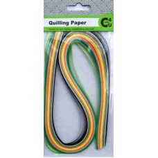 Crafts4U Quilling Paper 25 Colour 250 Pack 3mm 10043