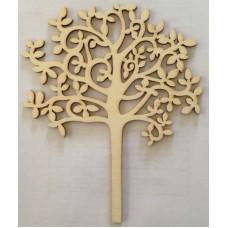 Crafts4U Large Wooden Tree