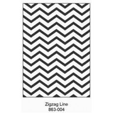 Crafts4U Embossing Folder 5 x 7in Zigzag Line