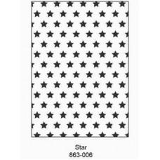 Crafts4U Embossing Folder 5 x 7in Stars