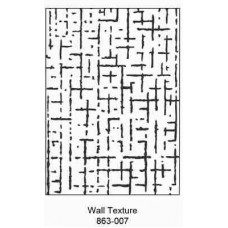 Crafts4U Embossing Folder 5 x 7in Wall Texture