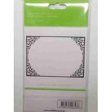 Crafts4U Embossing Folder Delicate Frame 1 10114