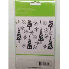 Crafts4U Embossing Folder Snowy Xmas Trees 10116