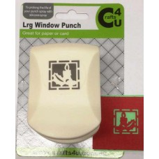 C4U Large Punch Window Candle 20001