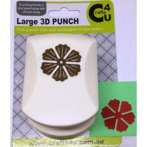 C4U Large Punch Embossed Carnation Petal 20009