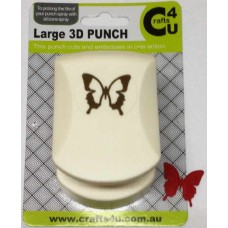 C4U Large Punch Embossed Royal Butterfly 20010