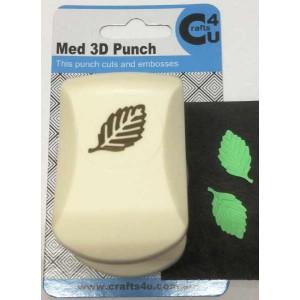 C4U Medium Punch Embossed Beech Leaf 20011