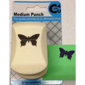 C4U Medium Punch Royal Butterfly 20022