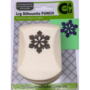 C4U Large Punch Snowflake Silhouette 20027