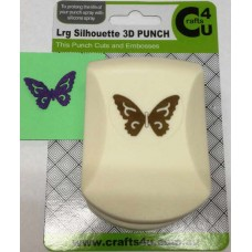 C4U Large Punch Embossed Silhouette Dainty Butterfly 20028