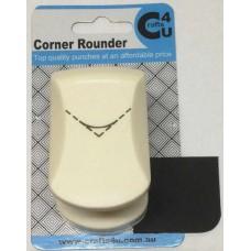 C4U Medium Corner Punch Rounder 3/8in 20030