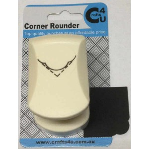 C4U Medium Corner Punch 2 20031 (Wavy Rounder)