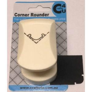 C4U Medium Corner Punch 4 20033 (Rounded Notch)