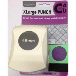 C4U X Large Punch Circle 40mm 20037