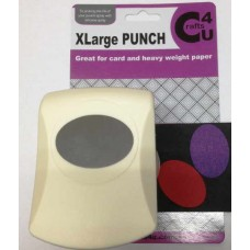 C4U X Large Punch Oval 45.5 x 32.5mm 20041