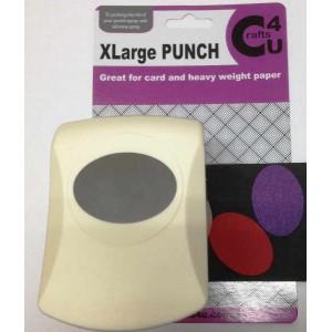 C4U X Large Punch Oval 45.5 x 32.5mm 20041