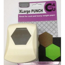 C4U X Large Punch Quilt Hexagon 25mm 20043