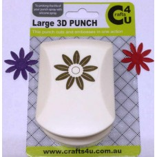 C4U Large Punch Embossed Daisy 20049